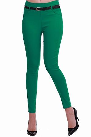 Дамски пролетен еластичен панталон 8306
