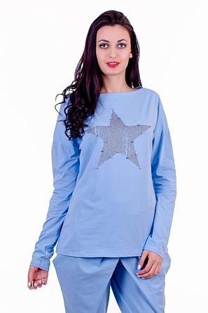 Спортна дамска блуза 'Star'