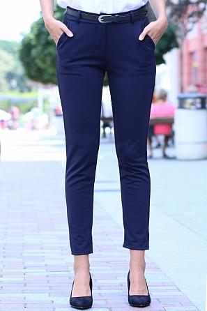 Елегантен дамски панталон с подарък колан 8503