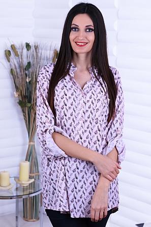 Ежедневна дамска блуза на пера 8734