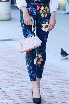 Елегантна дамска чанта с ефектен дизайн 1023