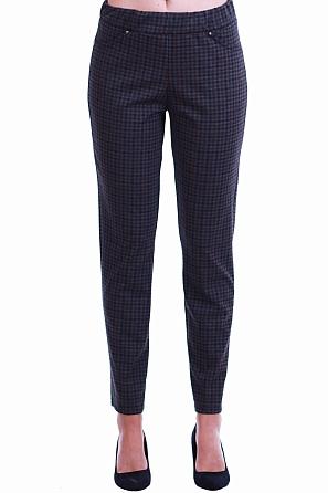 Интересен дамски панталон много ситно каре 8552
