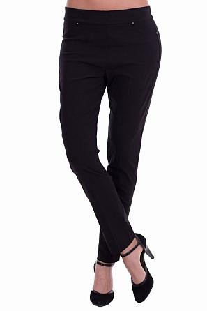 Стилен едноцветен зимен дамски панталон 8198