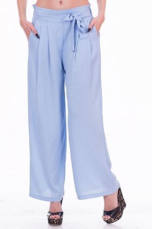 Едноцветен дамски панталон