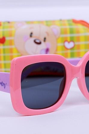 Детски слънчеви очила Graffito GR1903-6 с подарък детски калъф