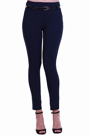Елегантен дамски панталон с колан 8430