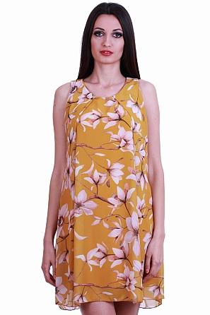 Феерична цветна дамска рокля/туника 83951