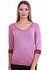 Едноцветна ежедневна дамска блуза