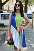 Шифонена дамска рокля солей няколко цвята