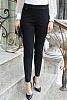 Едноцветен еластичен панталон с ластик