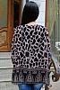 Ефектна дамска блуза на шарки