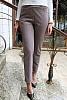 Вълнен дамски панталон дребен пепит