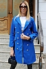 Двуредно дамско палто с хастар