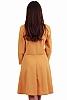 Елегантна разкроена дамска рокля от ламе