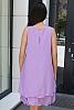 Едноцветна феерична дамска рокля/туника