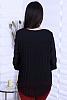 Елегантна шифонена дамска блуза с дантела на гърба