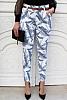 еластичен дамски панталон на пера