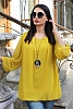 шифонена дамска блуза с подарък аксесоар