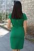 Едноцветна рокля с къси ръкавиЕдноцветна рокля с къси ръкави