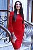 Стилна дантелена дамска рокля