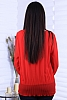 Красива блуза солей по ръкавите и в долната част