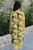 Памучна свободна дамска рокля на кръгове